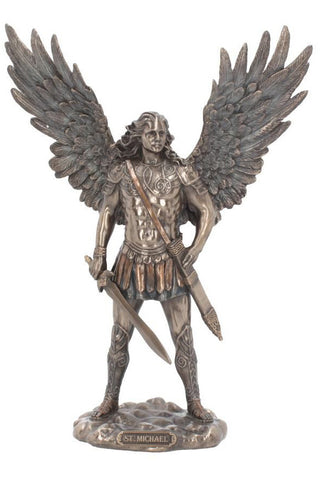 Saint Michael Figurine | Angel Clothing