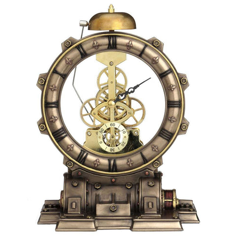 Nemesis Now Steampunk Time Machine Clock | Angel Clothing