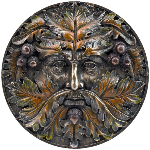 Nemesis Now Tree Spirits Wall Plaque, Autumn Equinox Pagan Gothic Wall Hanging 14.5cm | Angel Clothing
