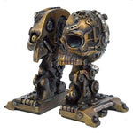 Steampunk Cranial Book Ends | Angel Clothing