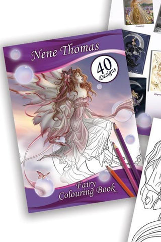 Nene Thomas Fairy Colouring Book | Angel Clothing
