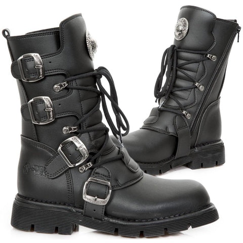 New Rock Vegan Comfort Sole M.1473-V1 Boots | Angel Clothing