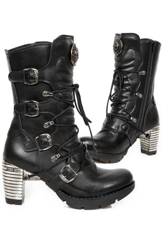 New Rock Vegan Trail Boots M.TR003-VS1 | Angel Clothing