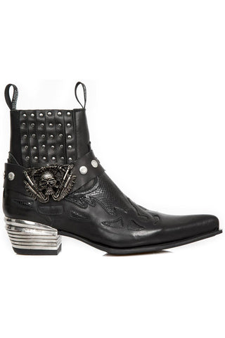 New Rock Ankle Cowboy Boots M.WST045-S2 | Angel Clothing