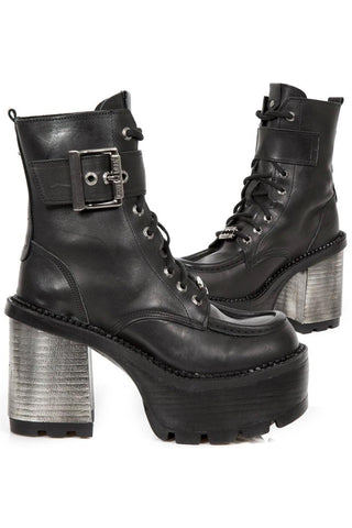 New Rock Seventy Ladies Ankle Boots M.SEVE27-S1 | Angel Clothing