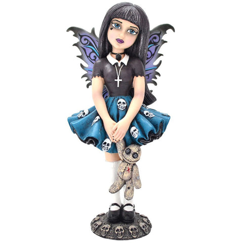 Noire Little Shadows Gothic Fairy Figurine - Angel Clothing