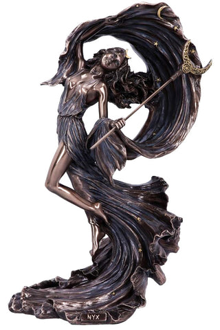 PRE-ORDER Nyx Greek Goddess of the Night Figurine | Angel Clothing