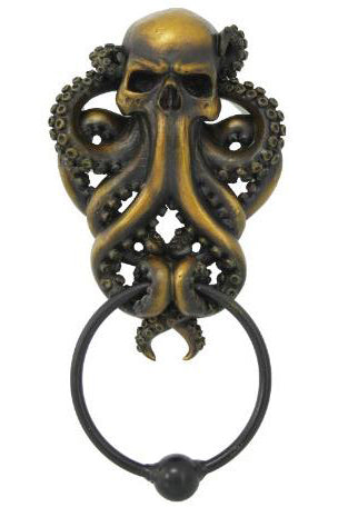 Octopus Skull Door Knocker | Angel Clothing