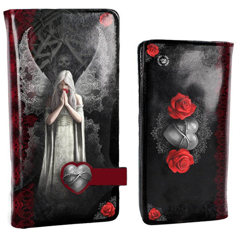 Only Love Remains Embossed Purse by Anne Stokes 18.5cm - Angel Clothing