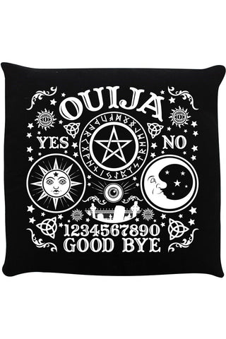Ouija Board Black Cushion | Angel Clothing