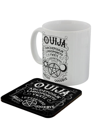 Ouija Spirit Board Mug and Coaster Set