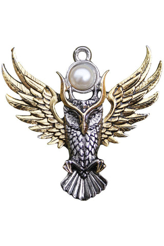 Owl of Athena Pendant | Angel Clothing