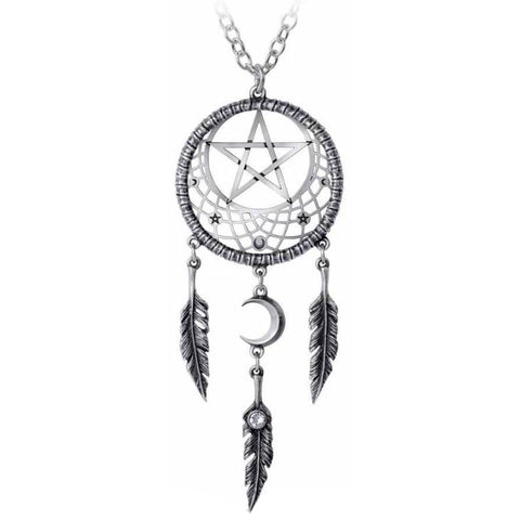 Alchemy Pagan Dream Catcher Pendant P873 | Angel Clothing