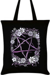 Pagan Pentagram Tote Bag | Angel Clothing