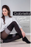 Gabriella Paula Tights Nero | Angel Clothing