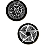 Pentagram 4 Piece Coaster Set | Angel Clothing