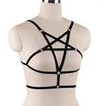 Gothic Pentagram Body Harness | Angel Clothing