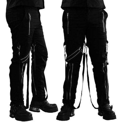 Phaze Canvas Bondage Trousers | Angel Clothing