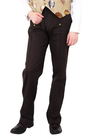 Phaze Emporium Trousers Brown | Angel Clothing