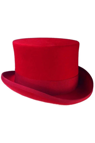 Phaze Red Top Hat | Angel Clothing