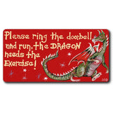 Please Ring The Doorbell And Run Smiley Magnet | Angel Clothing