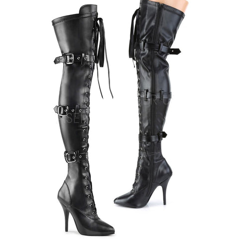 Pleaser SEDUCE-3028 Boots | Angel Clothing