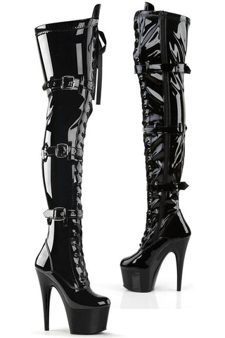 Pleaser ADORE-3028 Boots Patent | Angel Clothing