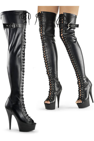 Pleaser DELIGHT-3025 Boots | Angel Clothing