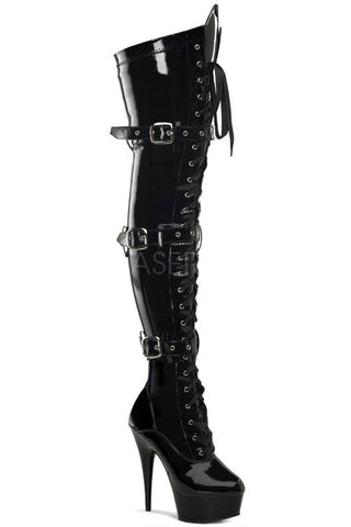 Pleaser DELIGHT-3028 Boots | Angel Clothing