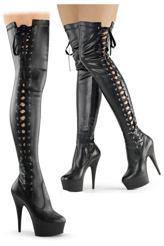 Pleaser DELIGHT-3050 Boots | Angel Clothing