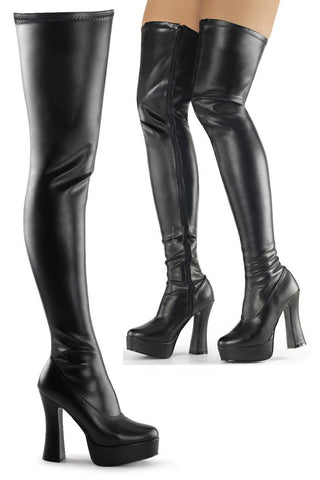 Pleaser ELECTRA-3000Z Boots | Angel Clothing