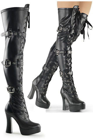 Pleaser ELECTRA-3028 Boots | Angel Clothing