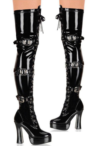 Pleaser Electra 3028 Boots | Angel Clothing