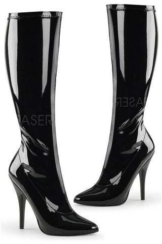 Pleaser SEDUCE-2000 Boots PVC | Angel Clothing