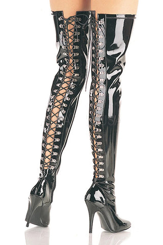 Pleaser SEDUCE 3063 Boots Patent | Angel Clothing