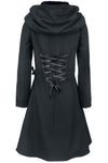 Poizen Alchemy Black Tears Coat | Angel Clothing