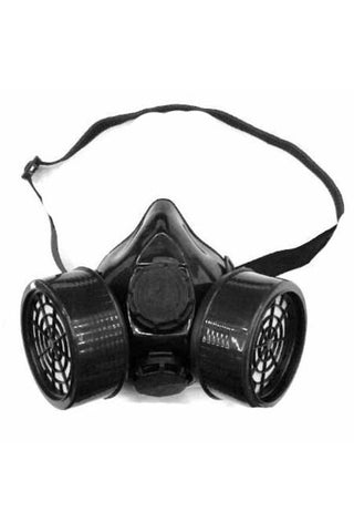 Poizen Industries - Black Cyber Face Mask - Double Filter | Angel Clothing