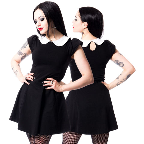 Poizen Industries Gothic Minidress, Suicide Dress | Angel Clothing