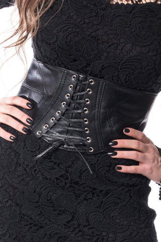 Poizen Gothic Corset Belt | Angel Clothing