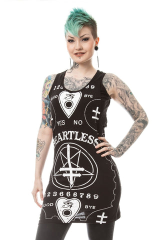 Poizen Heartless Hell No Top Dress | Angel Clothing