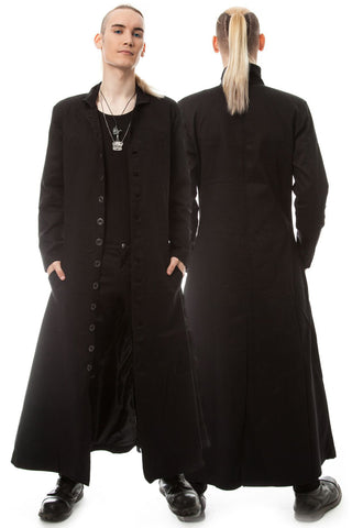 Poizen Industries - Neo Coat - Black | Angel Clothing