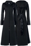 Poizen Industries - Raven Coat - Black | Angel Clothing