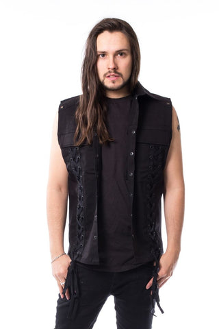 Poizen Industries Vixxsin Fredrik Vest - Angel Clothing