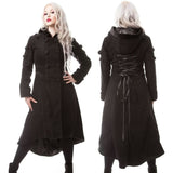 Poizen Midnight Coat | Angel Clothing