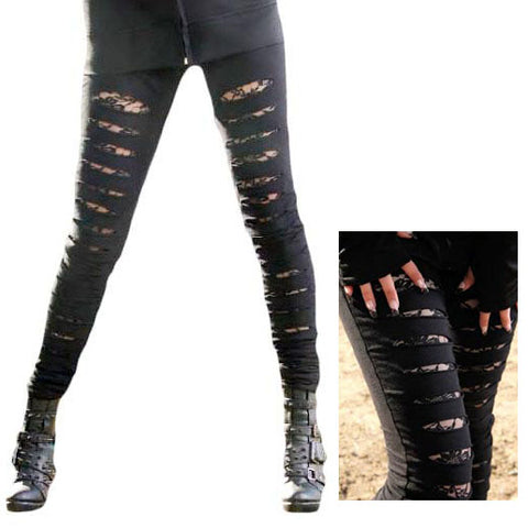 Poizen Vixxsin Slasher Leggings | Angel Clothing