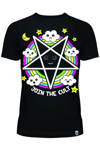 Poizen Join the Cult T-Shirt | Angel Clothing