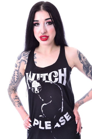 Poizen Witch Please Vest | Angel Clothing