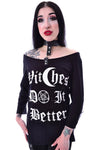 Poizen Witchcraft Top | Angel Clothing