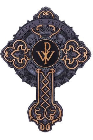 PRE-ORDER-Powerwolf Metal is Religion Wall Plaque | Angel Clothing