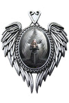 Anne Stokes Prayer For The Fallen Pendant | Angel Clothing